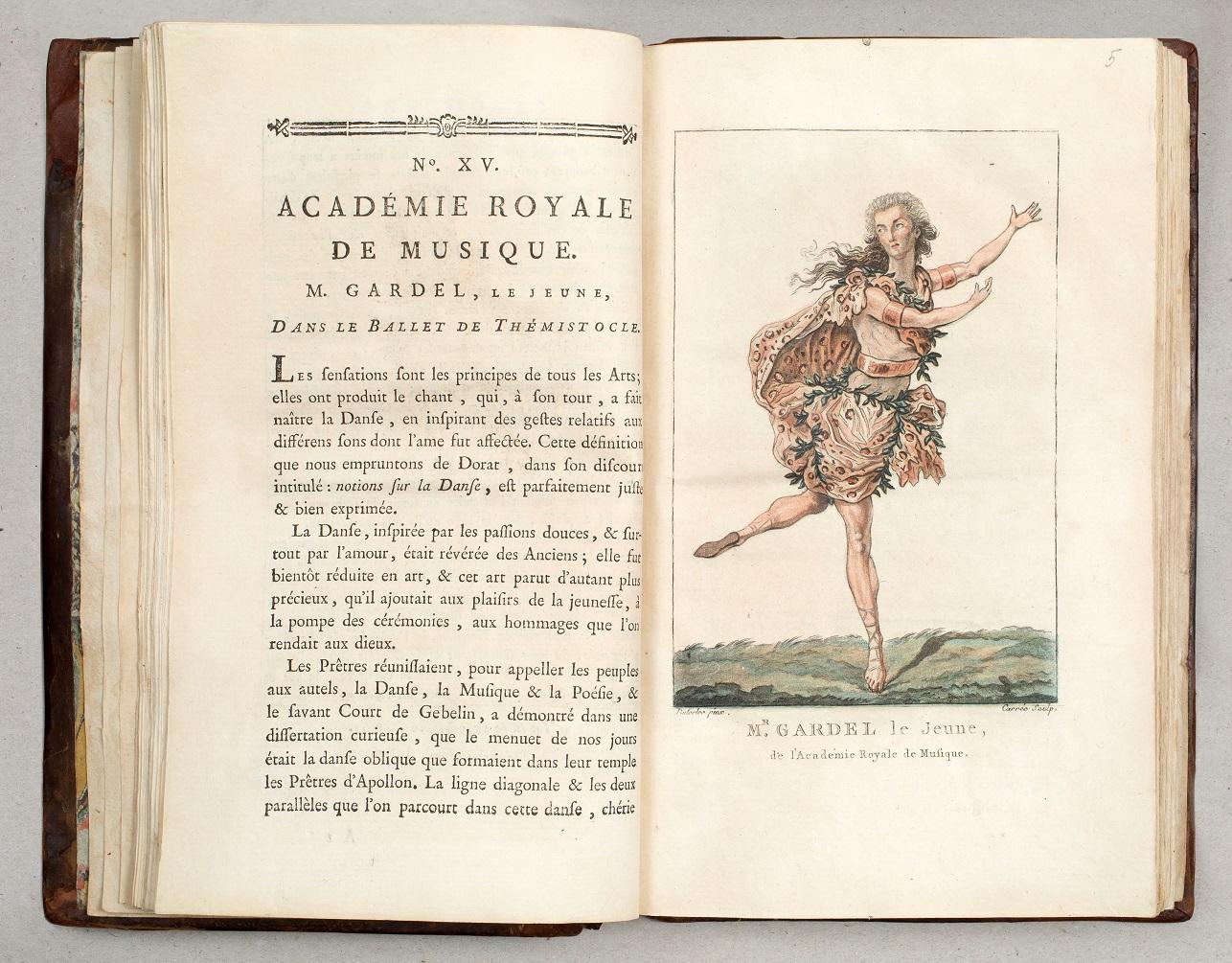 Costumes des grands théatres de Paris. № 37‒48. – Paris, 1786.